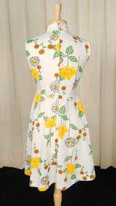 1960s Rose & Marigold Dress by Cats Like Us - Cats Like Us