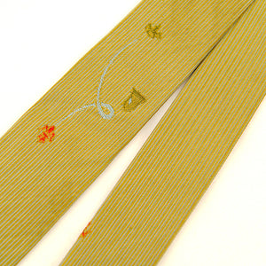 1960s Royal Gold Skinny Tie by Vintage Collection by Cats Like Us - Cats Like Us