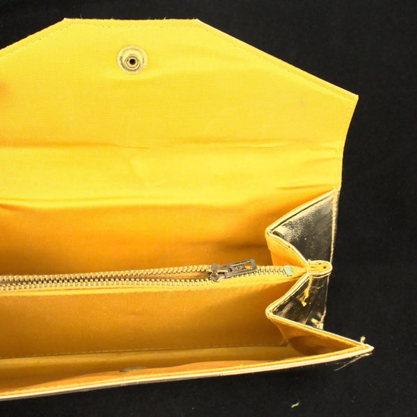 1960s Shiny Gold Clutch