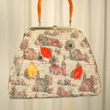 Cats Like Us 1960s Small Town Tapestry Bag