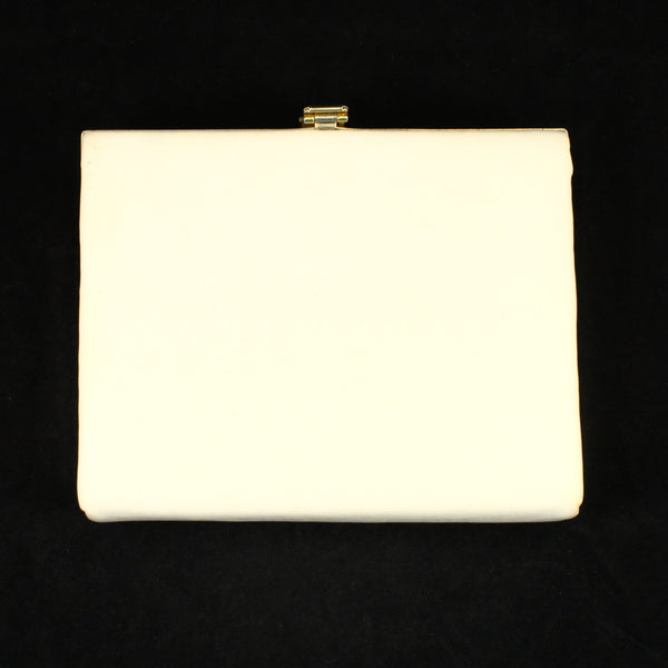1960s Small White Box Bag