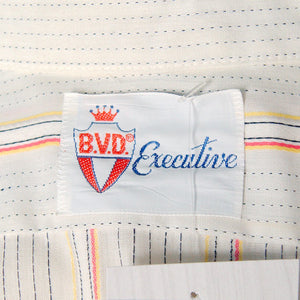1960s SS BVD Striped Shirt