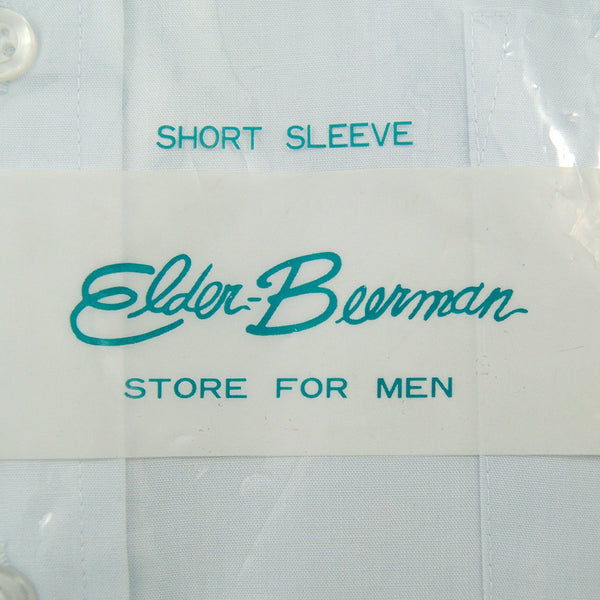 1960s SS Elder Blue Shirt