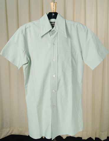 1960s SS Mint Shirt - Cats Like Us