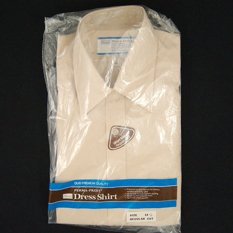 Vintage 1960s SS Sears Tan Shirt