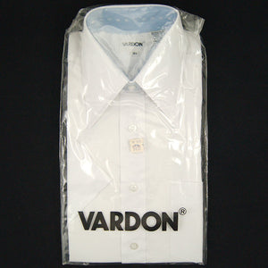 Vintage 1960s SS Vardon White Shirt - Cats Like Us