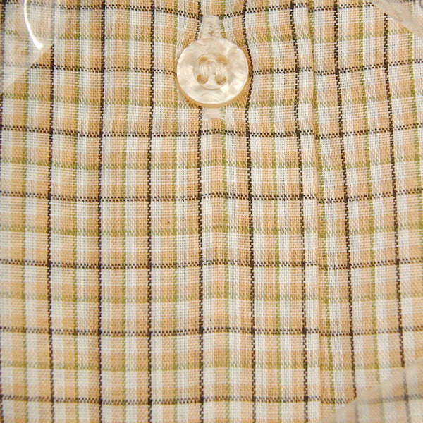 Vintage 1960s SS Wedgefield Plaid Shirt