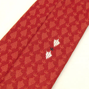1960s Tiny Crest Skinny Tie by Cats Like Us - Cats Like Us