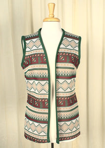 1960s Tunic Holiday Vest