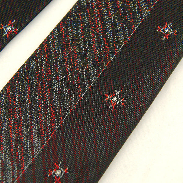 1960s Two Tone Skinny Tie by Cats Like Us - Cats Like Us