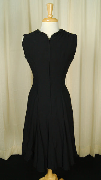 1960s Wide Collar Witch Dress by Cats Like Us : Cats Like Us