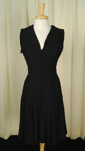 1960s Wide Collar Witch Dress