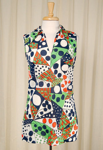 1960s Wild Polka Dot Mod Mini - Cats Like Us