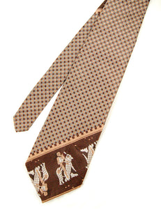 70s does 1940s Knight Tie by Cats Like Us - Cats Like Us