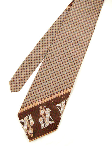 70s does 1940s Knight Tie