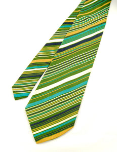 70s does 1940s Wide Cotton Tie