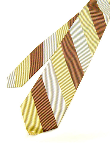 70s does 1940s Wide Striped Tie