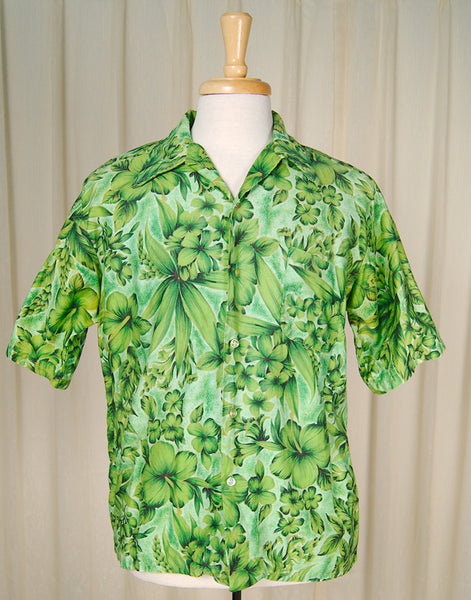 70s does 1950s Lucky Tiki Shirt