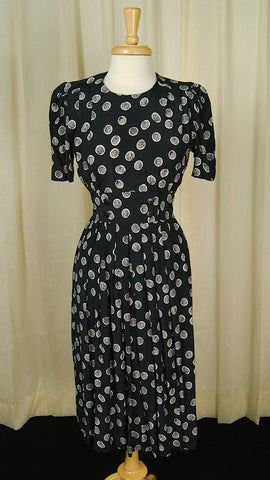 80s does 1940s Dottie Dress by Cats Like Us : Cats Like Us