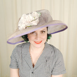 80s does 1940s Rhinestone Hat by Cats Like Us - Cats Like Us