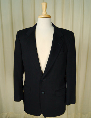 80s does 1950s Cashmere Blazer by Vintage Collection by Cats Like Us - Cats Like Us