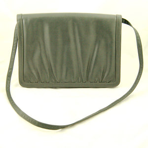 80s does 1950s Gray Clutch Bag