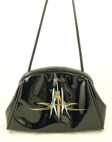 80s does 1950s Patent Handbag by Cats Like Us : Cats Like Us