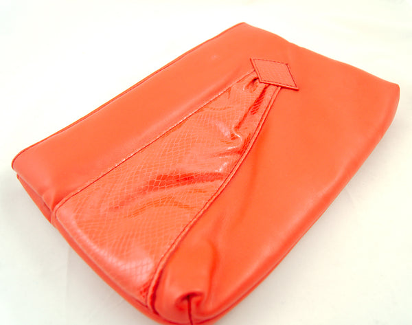 80s does 1950s Red Clutch Bag by Cats Like Us - Cats Like Us