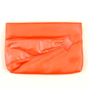 80s does 1950s Red Clutch Bag