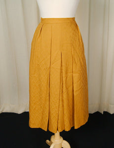 80s does 1950s Rust Skirt - Cats Like Us