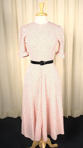 80s does 1950s Vintage Sprinkles Dress