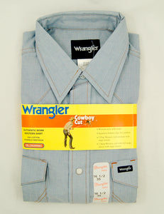80s does 1950s Wrangler Shirt by Vintage Collection by Cats Like Us - Cats Like Us