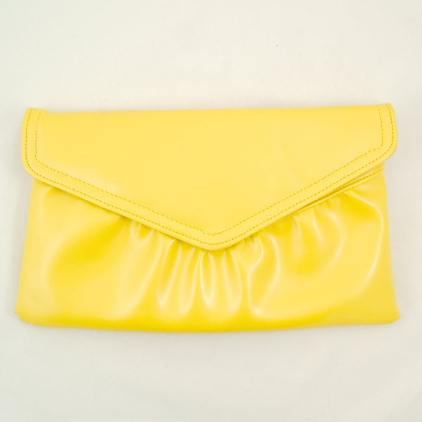 80s does 1950s Yellow Clutch