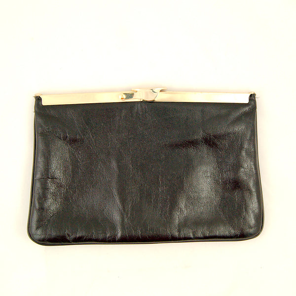 80s does 1960s Black Clutch by Cats Like Us - Cats Like Us