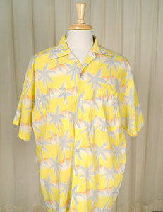 80s does 1960s Palm Tree Shirt by Cats Like Us - Cats Like Us