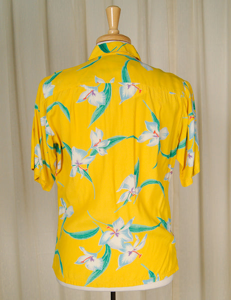 80s does 1960s Tropical Shirt by Cats Like Us - Cats Like Us