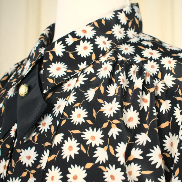 90s does 1940s Daisy Blouse