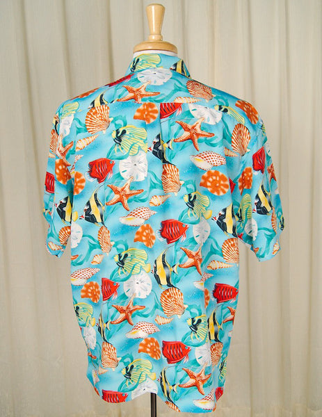 90s does 1960s Fish Shirt - Cats Like Us