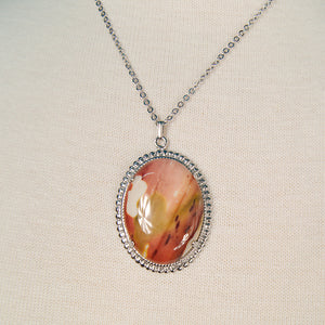 Agate Pendant Necklace by Cats Like Us - Cats Like Us
