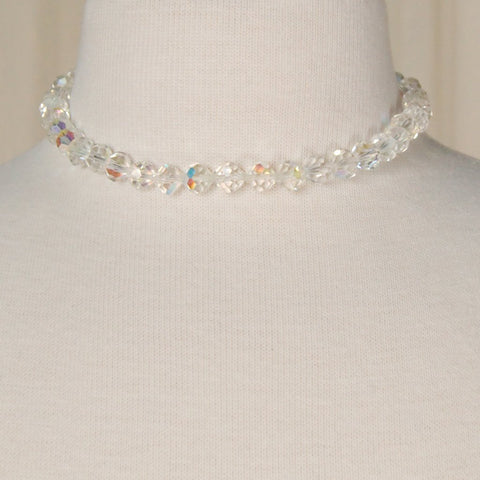 Aurora Borealis Choker Necklace