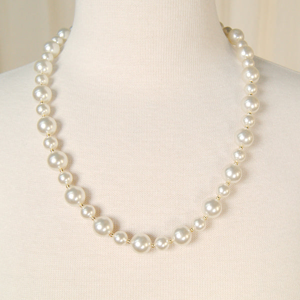 Big & Small Pearl Necklace