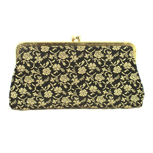 Black & Gold Change Purse