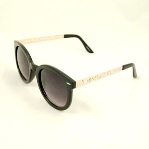 Cats Like Us Black Gold Abstract Sunglasses for sale at Cats Like Us - 2