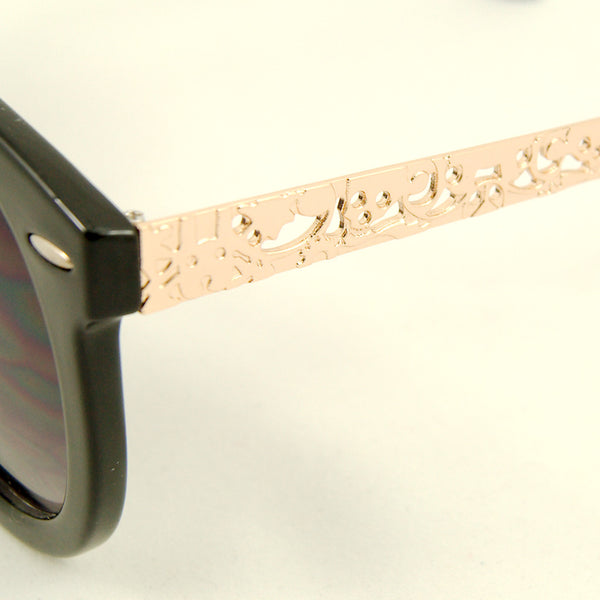 Cats Like Us Black Gold Abstract Sunglasses for sale at Cats Like Us - 3