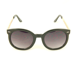 Cats Like Us Black Gold Abstract Sunglasses for sale at Cats Like Us - 1