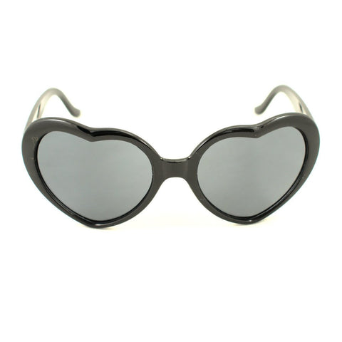 Black Heart Lolita Sunglasses - Cats Like Us