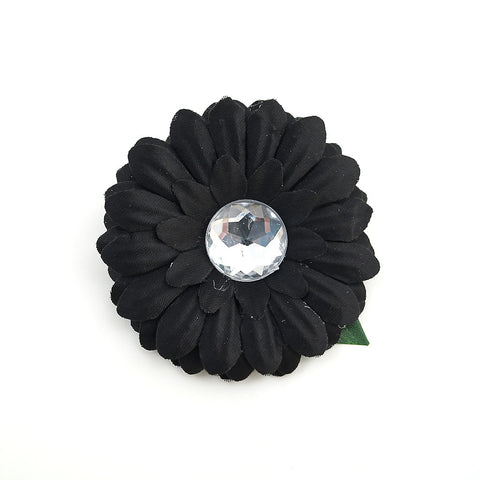 Black Mini Bling Daisy Flower - Cats Like Us