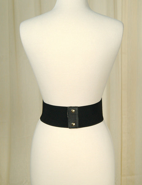 Black Swirl Cinch Belt by Cats Like Us : Cats Like Us