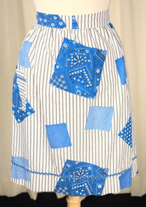 Blue Bandana Apron - Cats Like Us