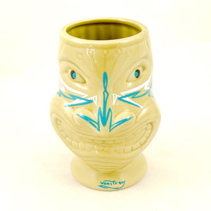 Blue Nose Pinstriped Tiki Mug